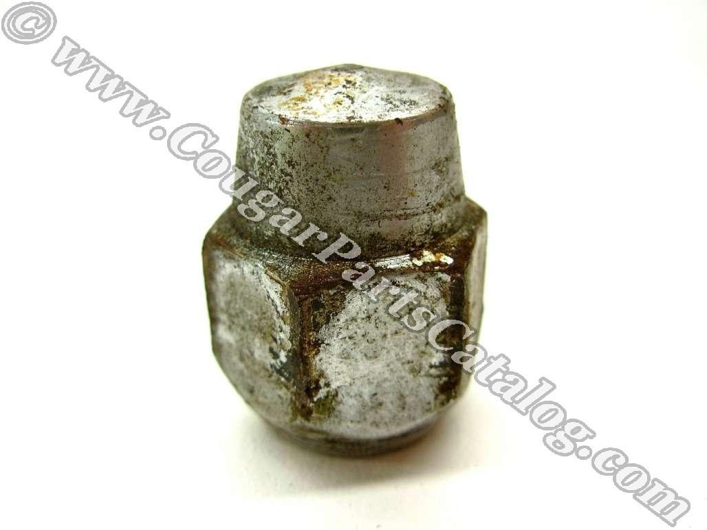Lug nuts - Styled Steel Wheel - Each - Used ~ 1967 - 1970 Mercury Cougar